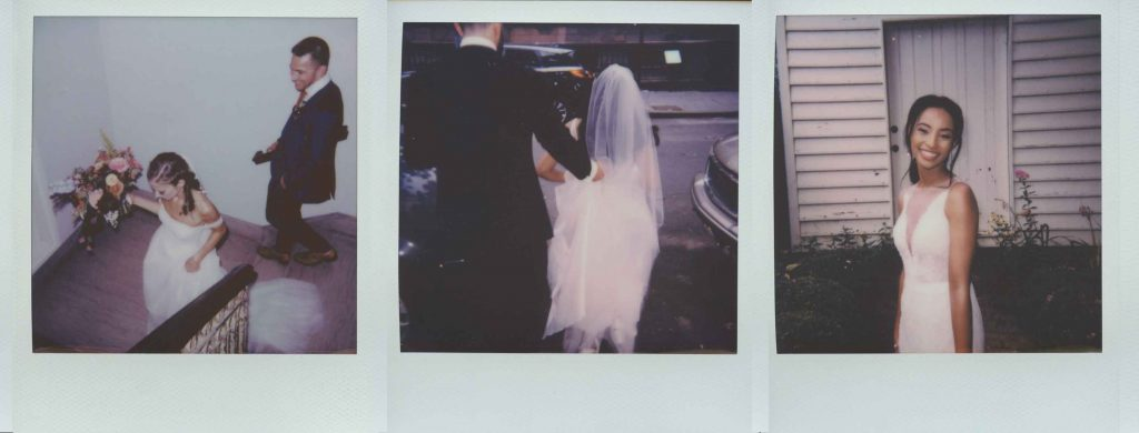 elopement polaroids